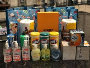 Noyes Family Foundation's care package to teachers in their support for education
