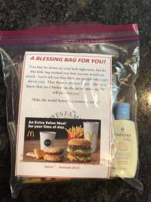 Noyes Family Foundation's Blessing Bags