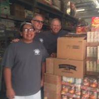 Noyes Family Foundation gathering food for Operation Stone Soup